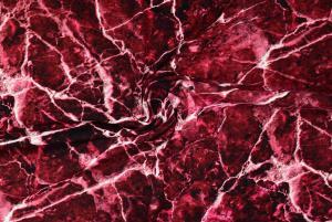 Röd marmor