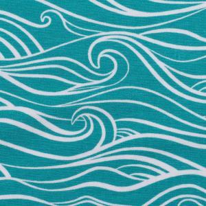 Turkosa vågor Trikå