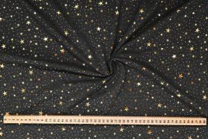 Guldstjärnor på grå botten