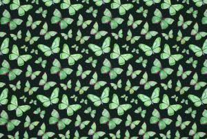 Fjärilar på grön botten