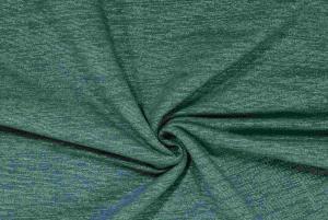 Glitterjogging flossad insida Aquagrön