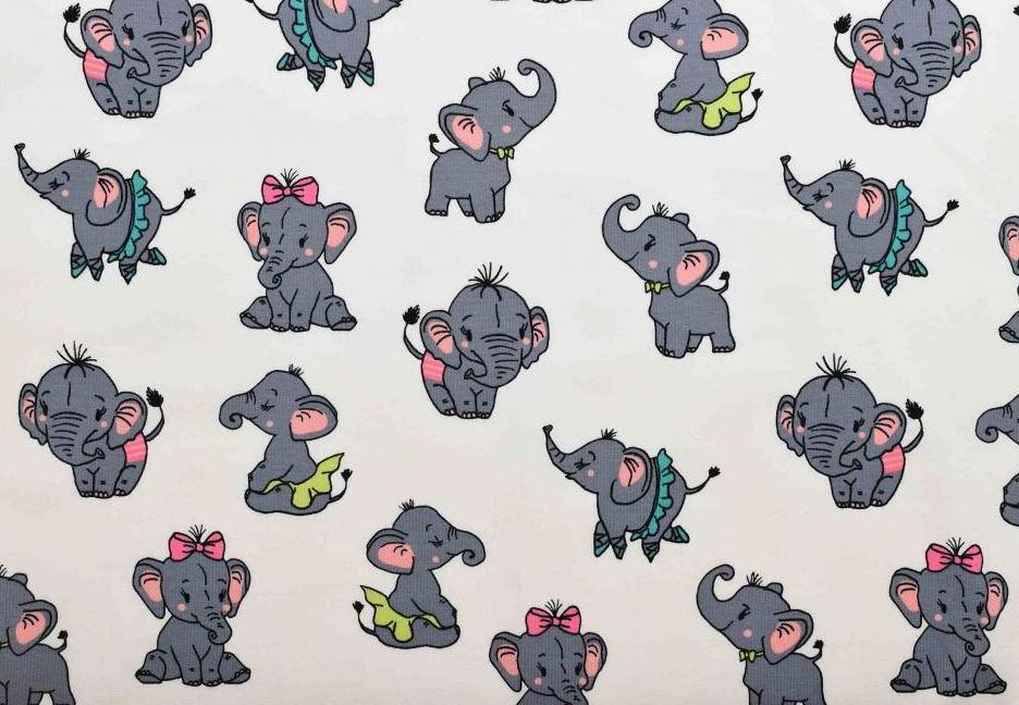 Elefanter vit