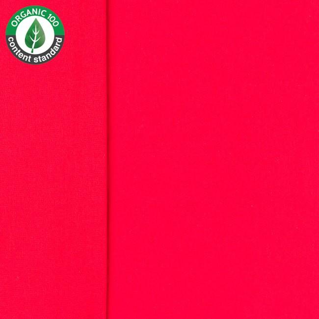 Ekologisk Öglad Jogging  Röd