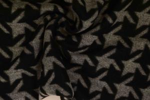 Mönstrad filt - Gråsvart hundtand
