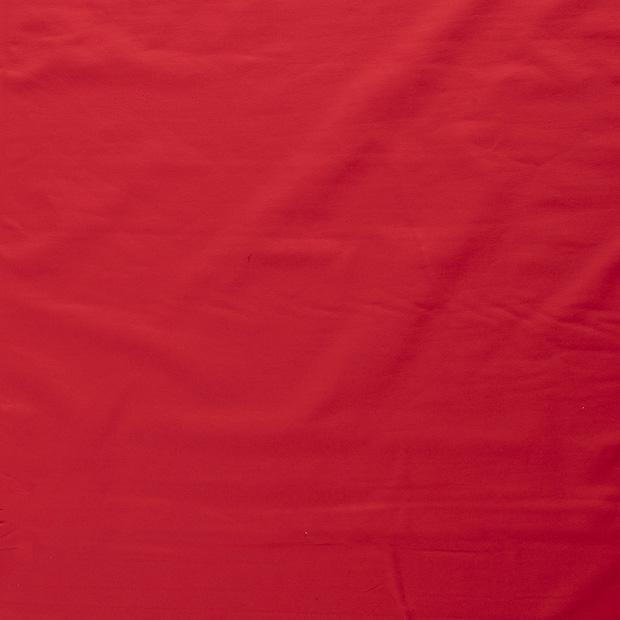 Enfärgad jogging - Öglad - Röd