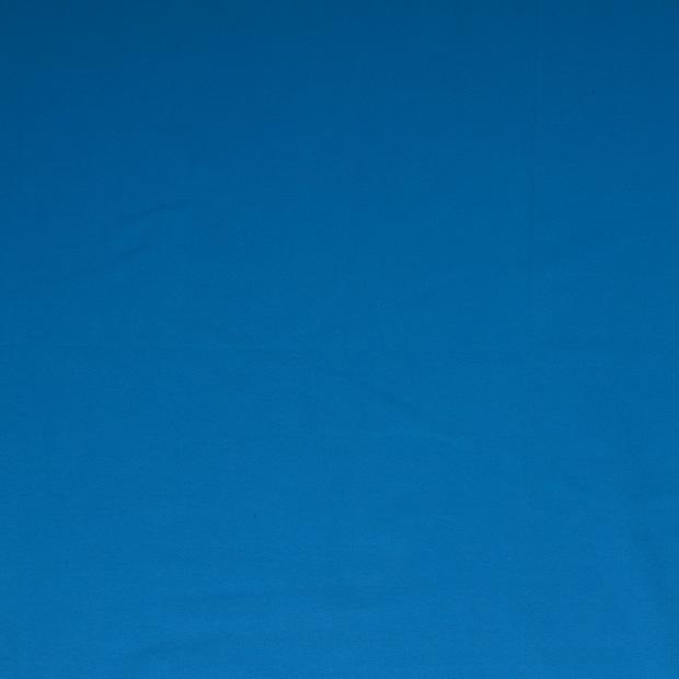 Enfärgad jogging - Öglad - Vattenblå