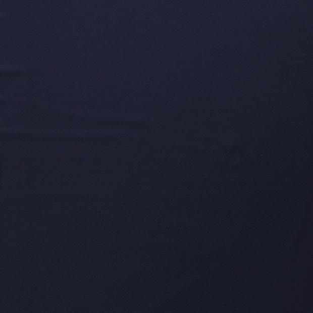 Enfärgad jogging - Öglad -  Marinblå