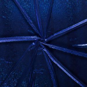Foliestretch - Ormskinn - Koboltblå