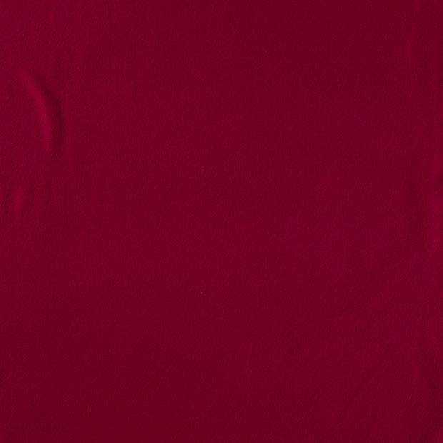 Bomullsfleece - Bordeaux