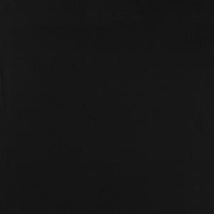 Bomullsfleece - Svart