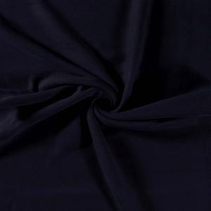 Bomullsfleece - Marinblå