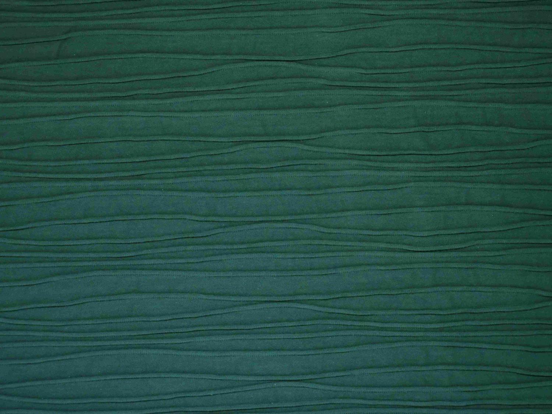 Trikå med stråveckslook - Smaragd