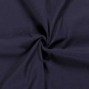 Bomullstwill med stretch - Mörkblå