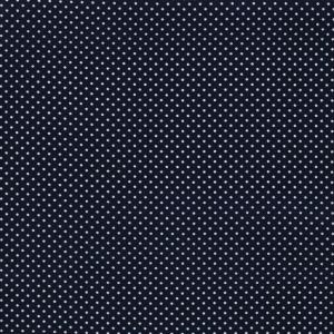 Vita prickar på marinblå botten