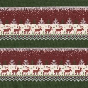 Jogging - Julmotiv med renar
