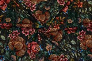 """Blommor med """"korsstygn"""""""