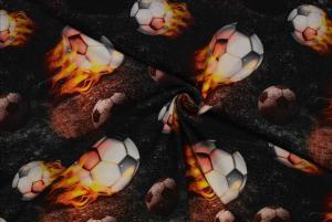 Eldiga fotbollar
