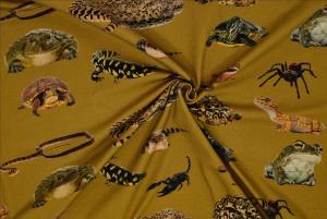 Reptiler gul botten