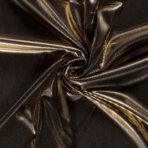Lame folie disco - Guld/svart