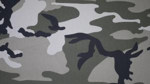 Camouflage twill