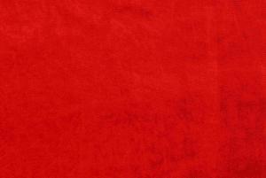 Glansig velour Röd