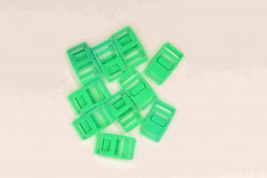 Klickspänne 20 mm - Ljusgrön - 10 st