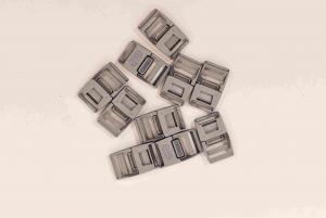Klickspänne 20 mm - Grå - 10st