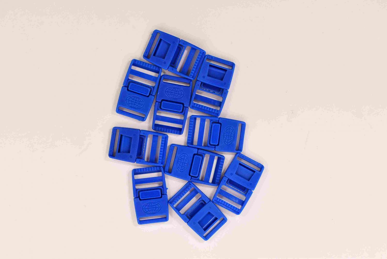 Klickspänne 20 mm - Blå - 10st