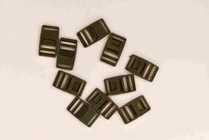 Klickspänne 20 mm - Mörkgrön - 10 st