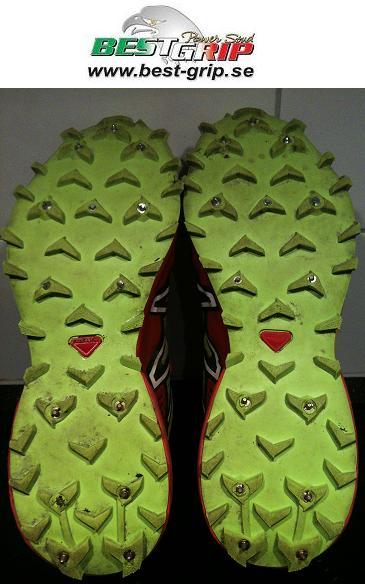 Halkskydd till skor för orientering