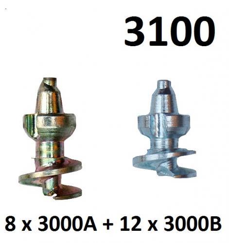 BestGrip 3100 Påfyllning av sats 3000