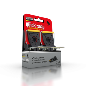 Pest-Stop - Quick-Snap Musfälla 2-pack