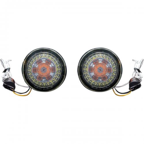 Custom Dynamic ProBeam 1156 LED Blinkers till HDI