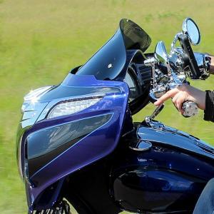 Klock Werks Vindruta Flare 2014+ Indian Baggers