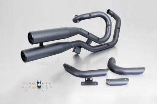 Remus Harley Davidson V-Rod VRSC, VR1 komplett avgassystem Svart