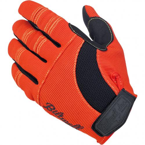 Biltwell Moto MC-Handskar, Orange