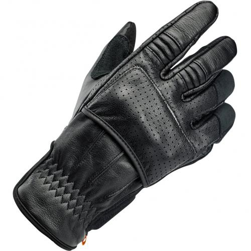 Biltwell Borrego Leather Glove, Black