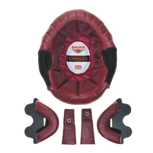 Davida Speedster v3 - Läder Innerfoder - Röd