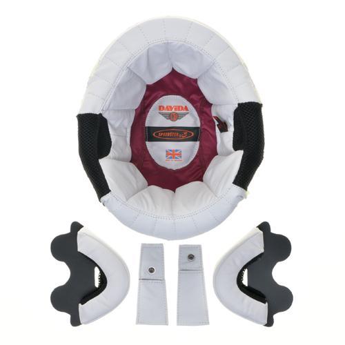 Davida Speedster v3 - Läder Innerfoder - Vit