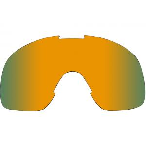 Biltwell Overland Goggle Lins, Lime/Brown Mirror