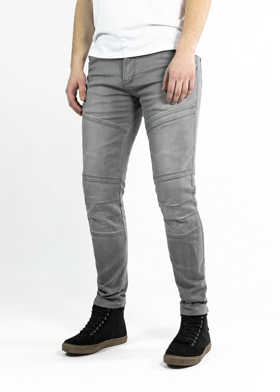John Doe Trophy Jeans Ljusgrå med Kevlar®