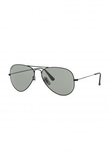 John Doe Sunglasses Aviator, Matte Black