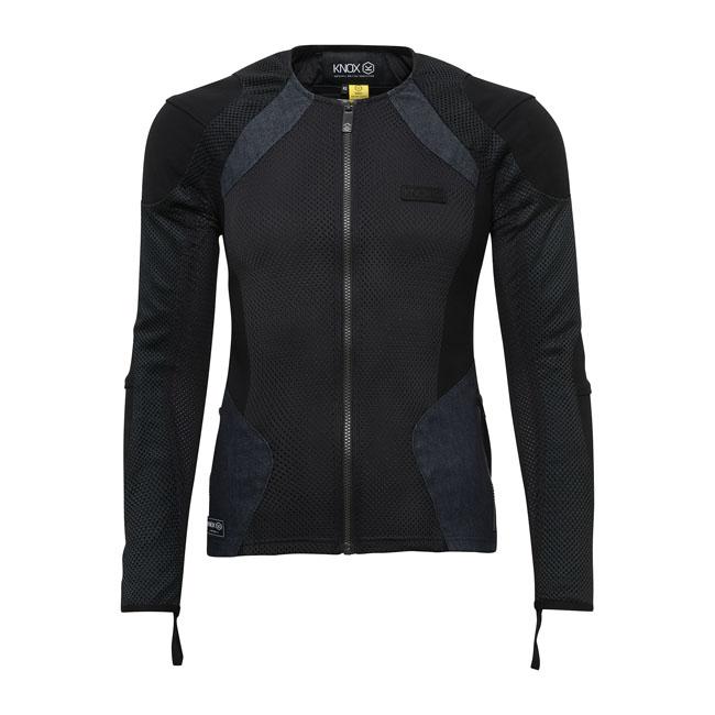 Knox Urbane Pro Dam Skyddsjacka, Svart/Jeans