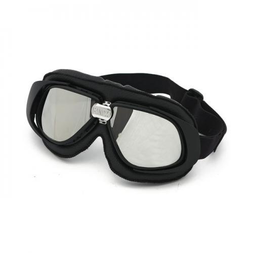 Bandit Classic Goggle Svart/Silver Spegelglas