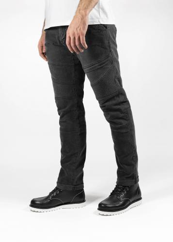 John Doe Rebel Jeans Mörkgrå med Kevlar®