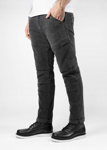 John Doe Trophy Jeans Mörkgrå med Kevlar®