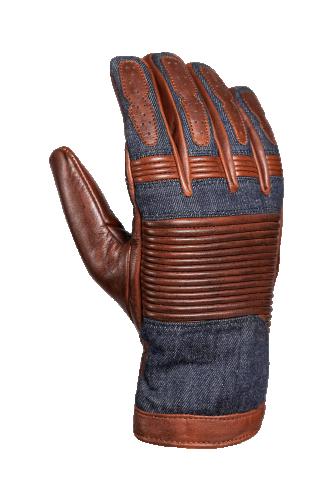 John Doe Handskar Durango, Brun/Jeans