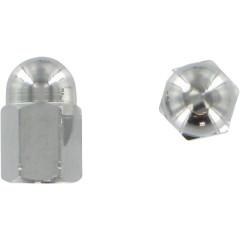 Barnett Krom Aluminium Ventilhattar, 2 Pack