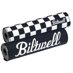 Biltwell Moto Barpad, Shackrutor/Svart
