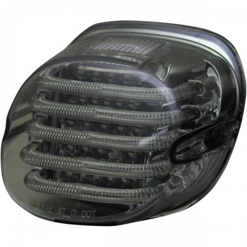 Custom Dynamics ProBeam Låg Profil Rökfärgad Baklampa till 99-Upp Harley